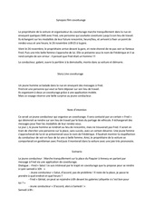 synopsis covoiturage pdf
