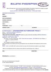 bulletin inscrip reiki niveau 1 mayotte 13 et 14 avril 2017