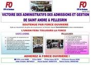 affichette greve administratif 2017