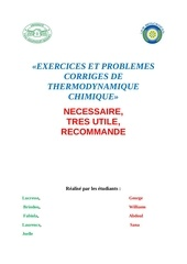 exercices et problemes