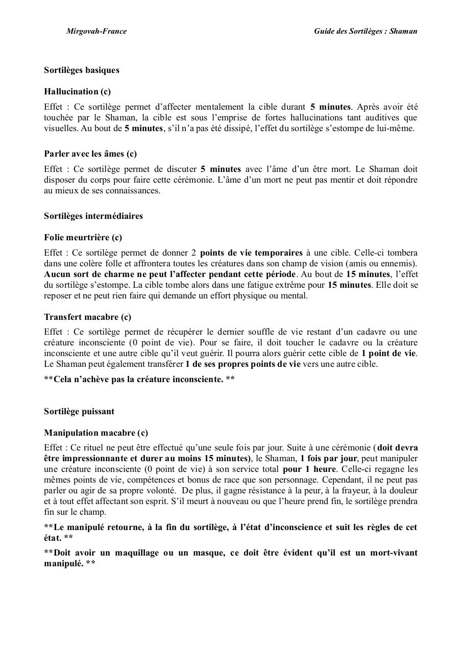 Aperçu du document Guide-du-Shaman.pdf - page 2/4