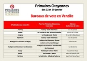 lieux de vote 22 et 29 01 2017 primaires citoyennes