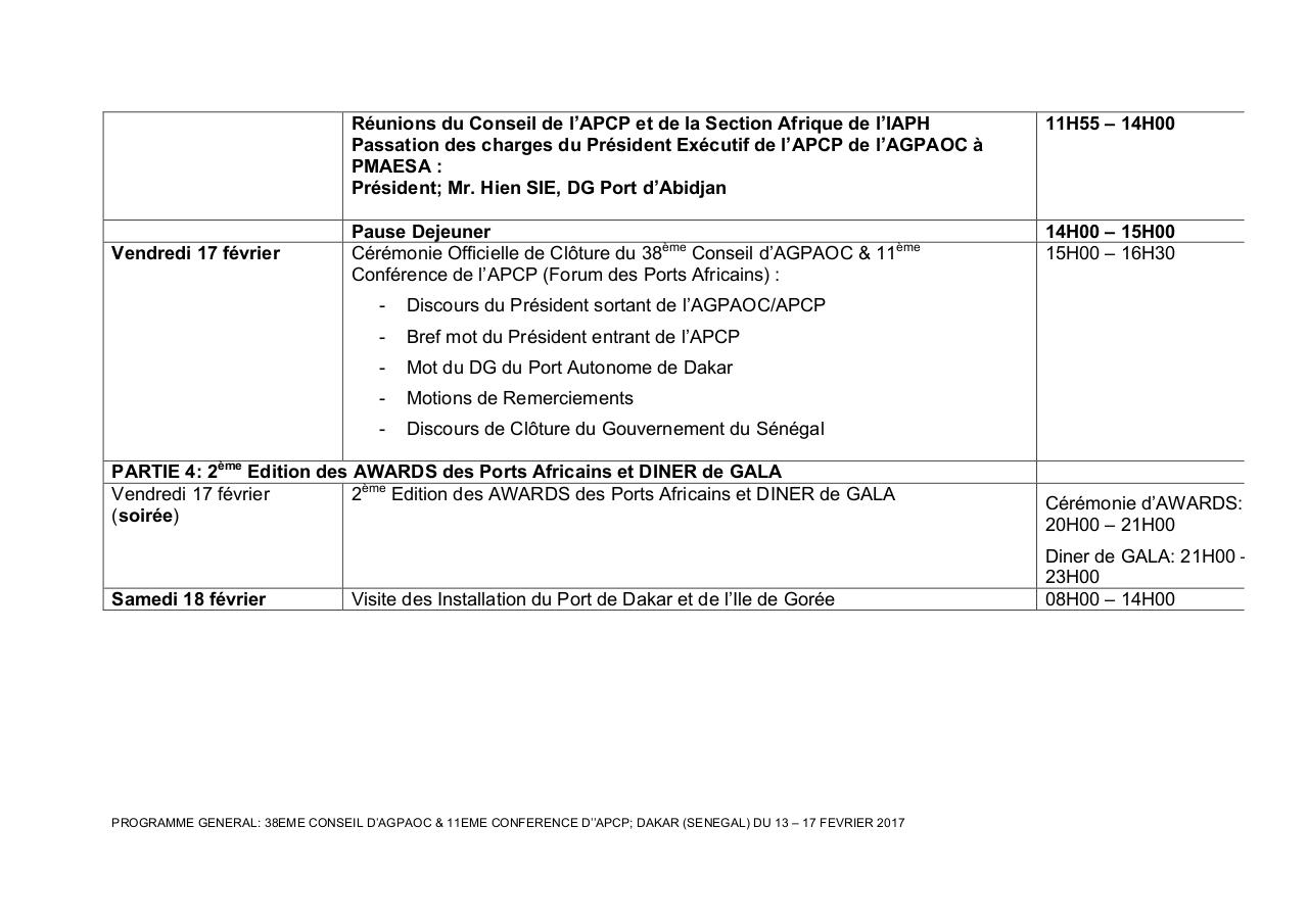 Aperçu du document PROGRAMME GENERAL-38eme CONSEL d'AGPAOC- Dakar'17-1.pdf - page 6/6