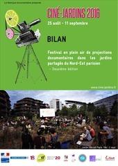 bilan cine jardins 2016