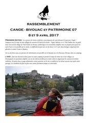 canoe bivouac et patrimoine 07 2017 1