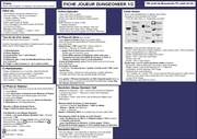 Fichier PDF dungeonneraide de jeu