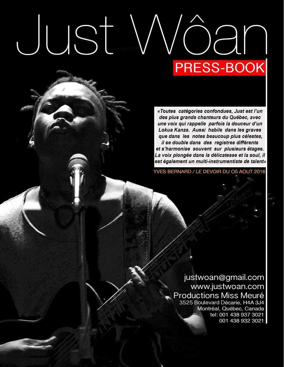 Aperçu Just Wôan Press-Book.pdf - Page 1/14