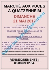 affiche et coupon inscription brocante puces 21 mai 2017