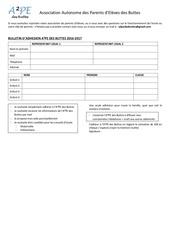 Fichier PDF bulletin adhesion seul