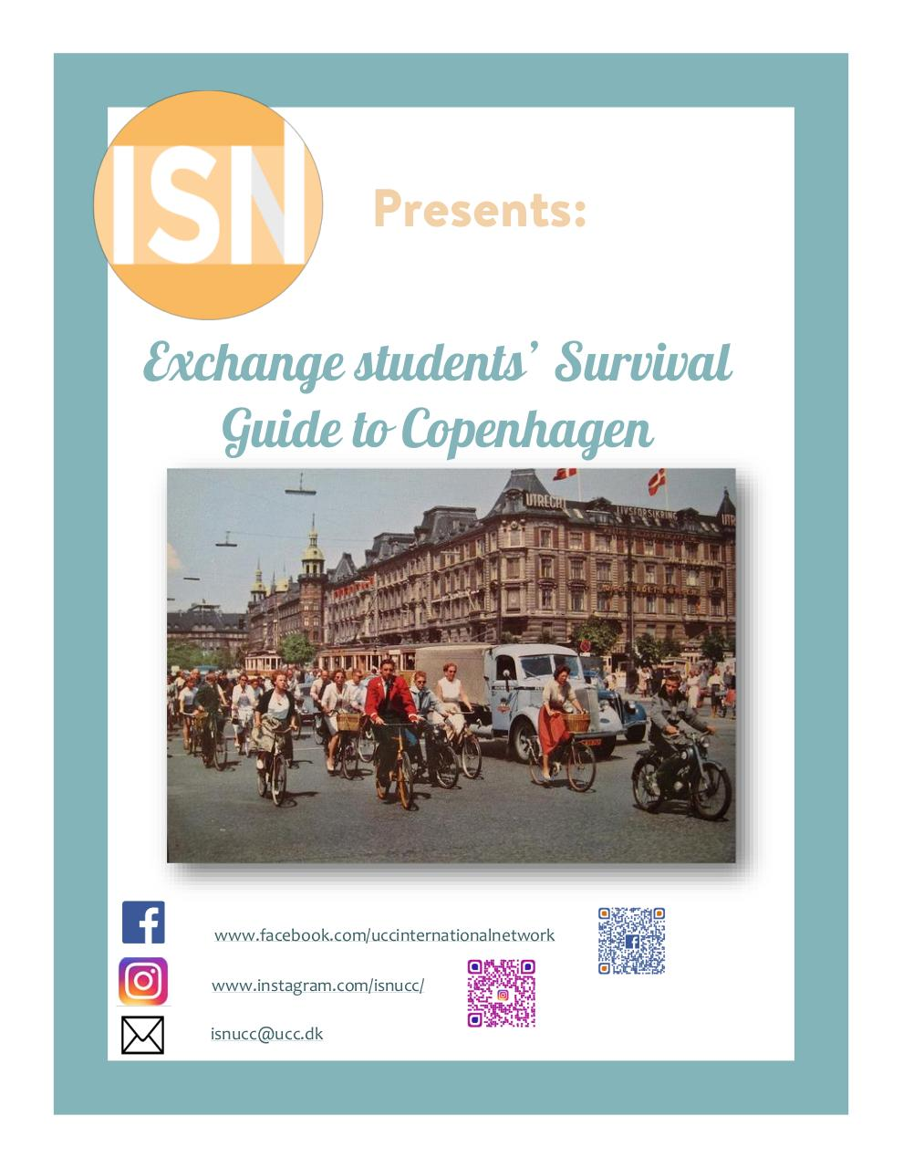 Aperçu du document Exchange students' Survival Guide to Copenhagen.pdf - page 1/33
