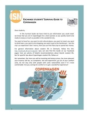 Exchange students' Survival Guide to Copenhagen.pdf - page 3/33