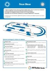 presentation roue bleue