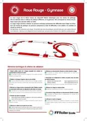 presentation roue rouge gymnase