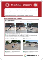 presentation roue rouge skatepark