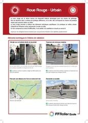 presentation roue rouge urbain