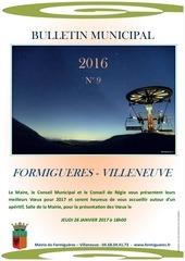2016 bulletin municipal