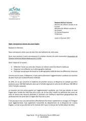courrier marisol touraine