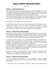 Fichier PDF reglement facebook jeu premium party miss europe