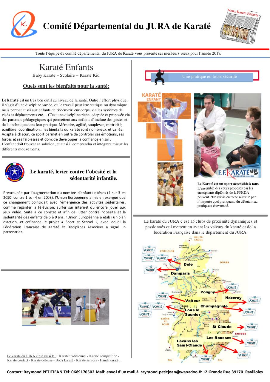 Aperçu du document FLYER KARATE ENFANTS 2017.pdf - page 1/2