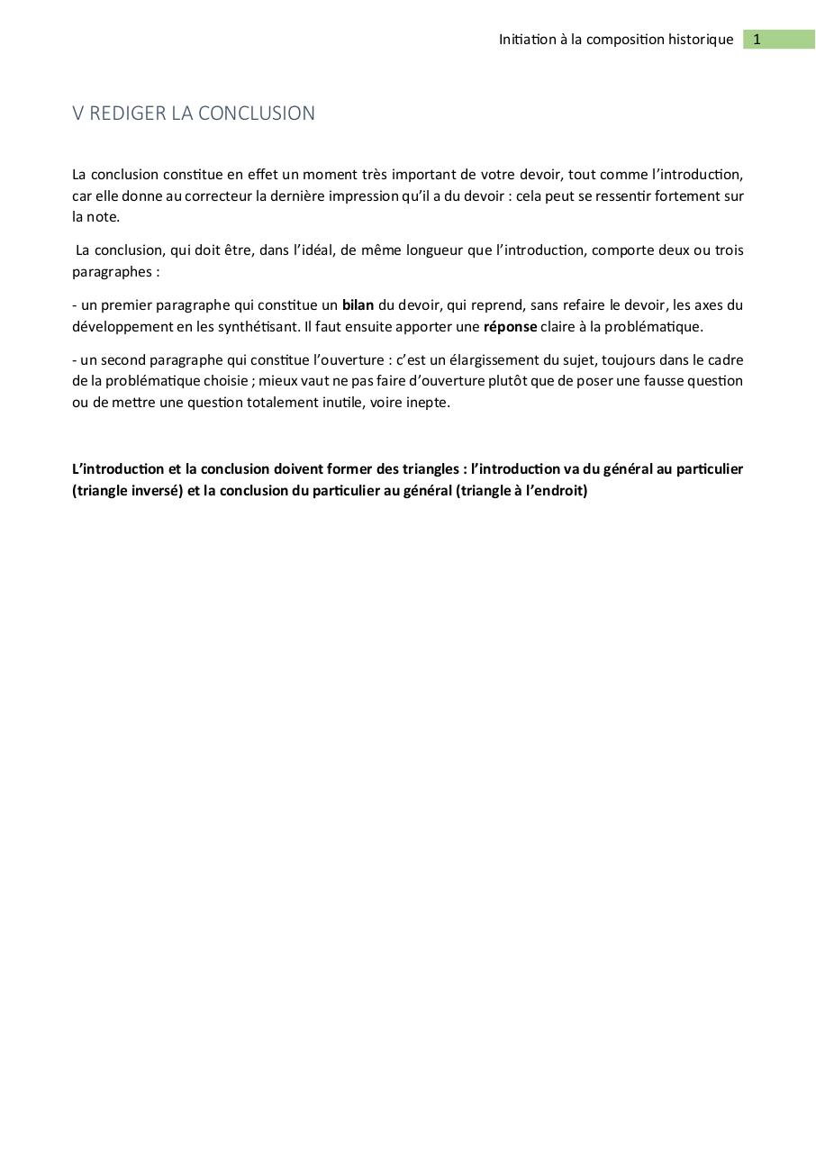 Aperçu du document Rédiger la conclusion.pdf - page 1/1