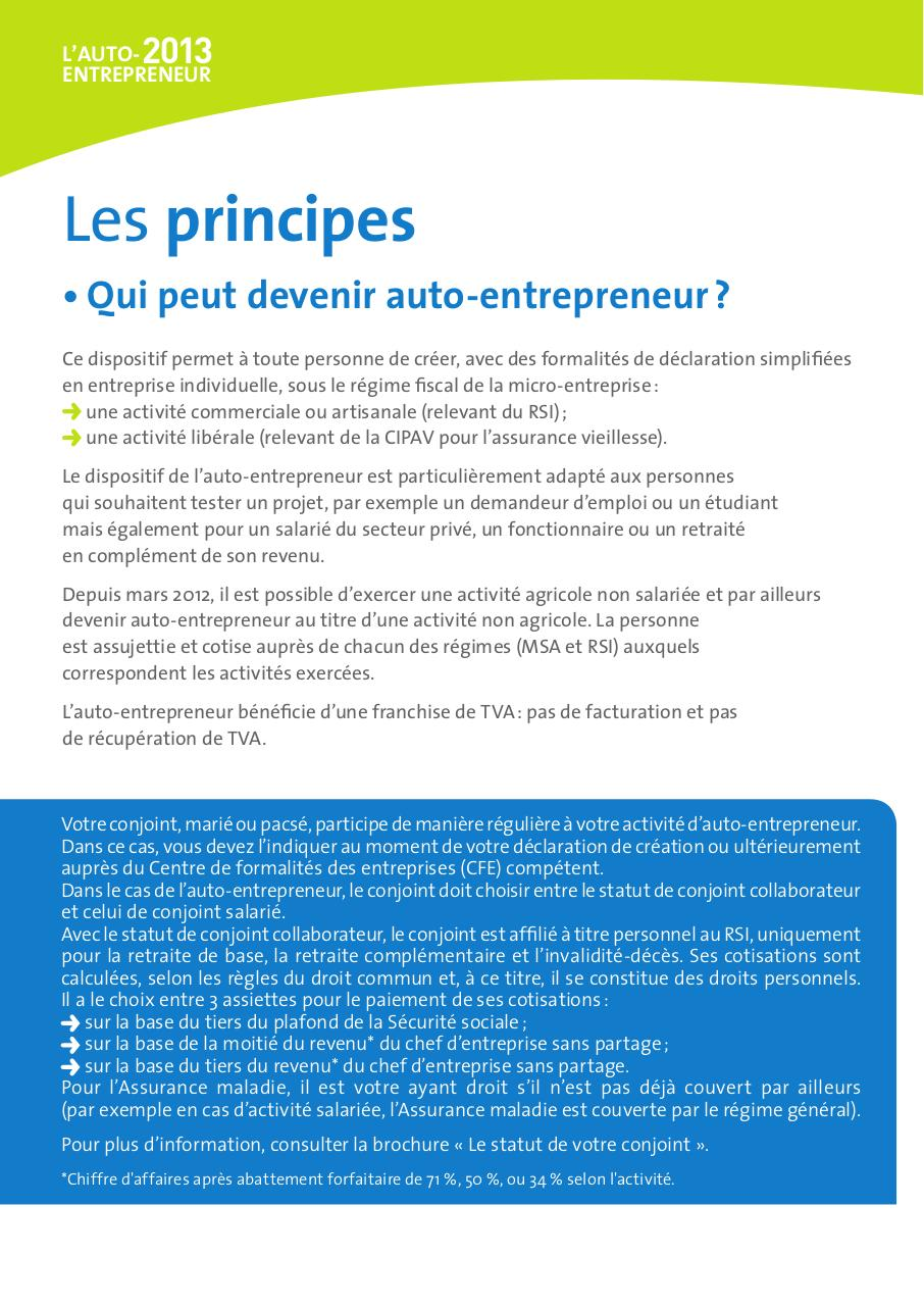 guide auto entrepreneur 2013 professional user manual ebooks u2022 rh gogradresumes com France Auto-Entrepreneur Auto-Entrepreneur Gratuit