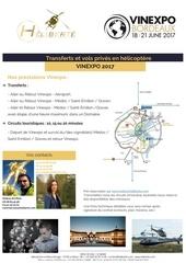 fiche promotion vinexpo 2