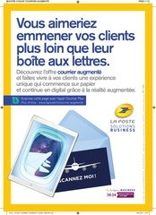 page courrier augmente