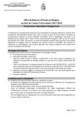 Fichier PDF annonce bourse hongrie 2017 2018