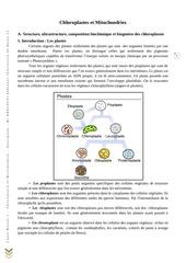 chloroplaste et mitochondrie by kheloufi abdenour