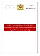 rapport dactivit s de lanam volet ramed exercice 2015