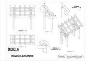 mise en a3 plan maquette charpente detaille 1