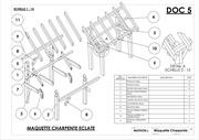 mise en a3 plan maquette charpente eclate 1