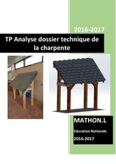 tp n 1 analyse dossier technique charpente