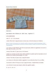 brassiere bleue et blanche