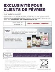 Fichier PDF excluvisite pour clients fevrier
