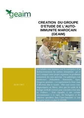 groupe d etude de l autoimmunite marocain