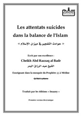 les attentats suicides