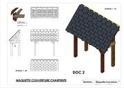 mise en a3 plan maquette charpente couverture 2