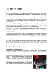 preambule projet de lois printable