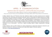appel a communication du 4eme reseau migrations