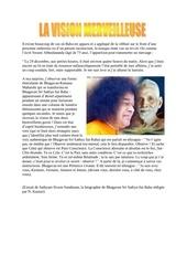 la vision merveilleuse ramana maharshi sathya sai baba