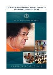 rapport annuel 2011 2012 du sri sathya sai central trust