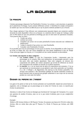 Fichier PDF la bourse