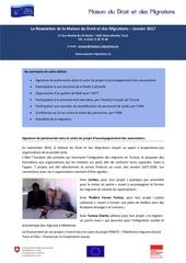 newsletter maison du droit et des migrations janvier 2017