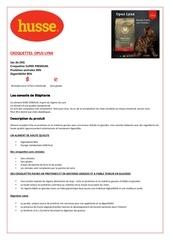 Fichier PDF opus lynx