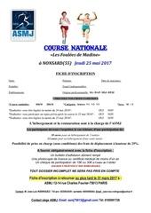 asmj fiche inscription course a pied madine 2017