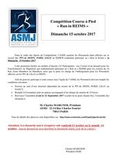 asmj formulaires course run in reims 2017