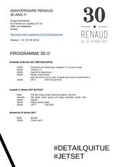 programme 30