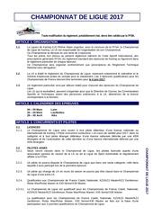 reglement championnat de ligue 2017 2