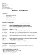 Fichier PDF pater julie cv